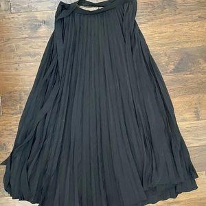 NWT Lularoe Deanne Skirt Large Pleated Wrap Skirt
